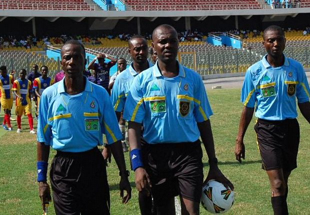 Image result for ghanaian referees