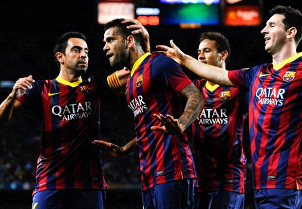 Alves warisi nomor Xavi.