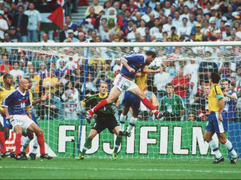 Image result for france goal 1998 world cup
