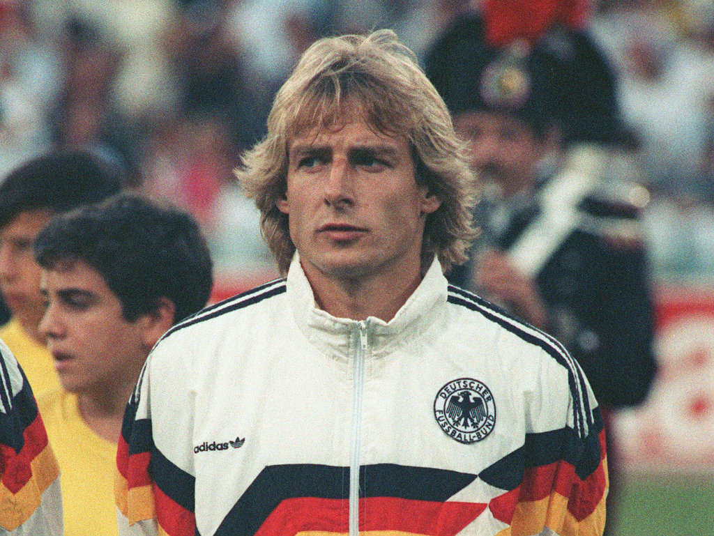 Image result for jurgen klinsmann 1990 world cup
