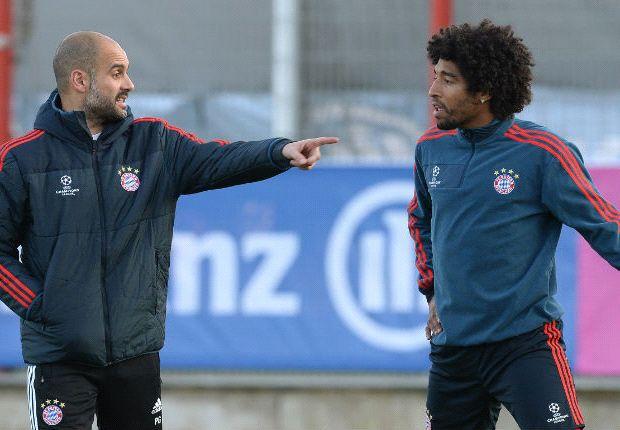 Dante também tem más recordações de Guardiola: 'Não fala com o jogador'