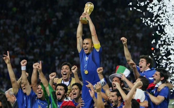 Resultado de imagen de italia copa del mundo 2006