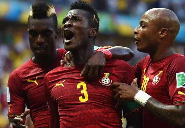 Ghanaischer Jubel gegen die DFB-Elf