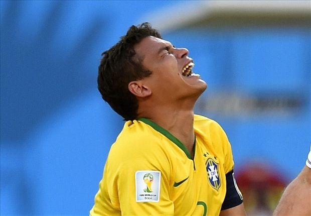 Image result for Thiago silva injured in brazil