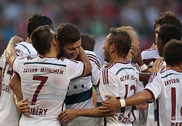 Campeão alemão na temporada passada empatou em 2 a 2 com o Borussia Moenchengladbac