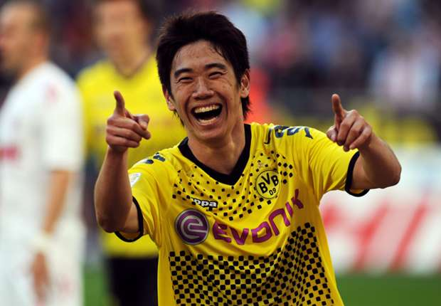 A parceria entre Kagawa e Borussia foi de grande sucesso