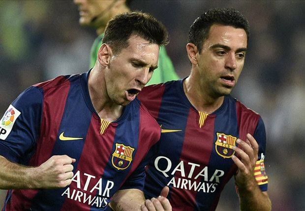 Xavi: If you can't link with Messi, you're in the wrong game