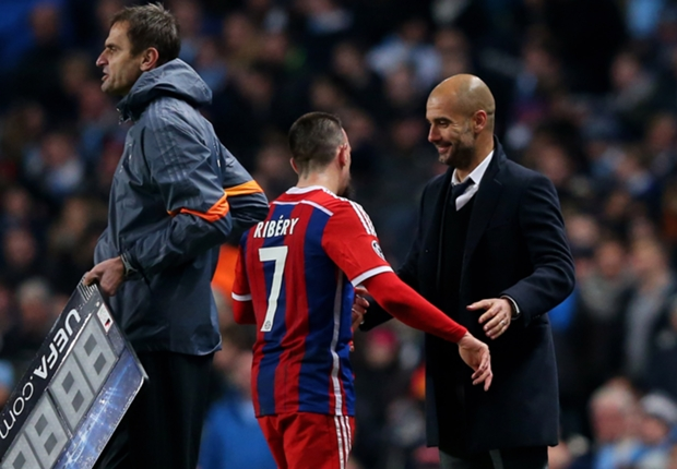Pep Guardiola & Frank Ribery