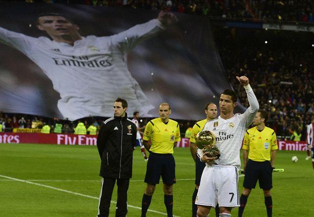 Ronaldo should win more Ballon d'Or titles than Messi - Zidane