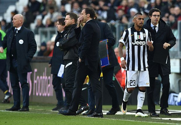 Vidal tantrum part of football, says Allegri