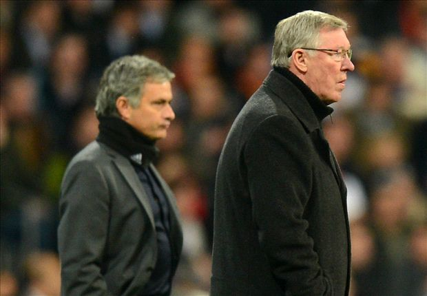 Mendes: Only a god could have replaced Ferguson at Manchester United... but he's at Chelsea