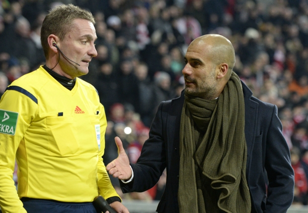 'Guardiola is undermining referees'