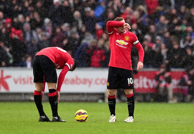 The best in the Premier League? Van Gaal's Manchester United boast backfires