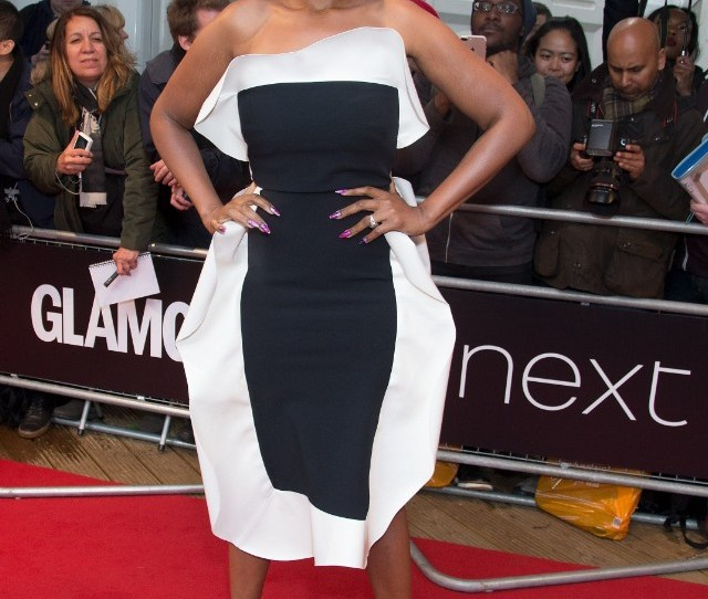 Jennifer Hudson Attends The Glamour Women Of The Year Red Carpet