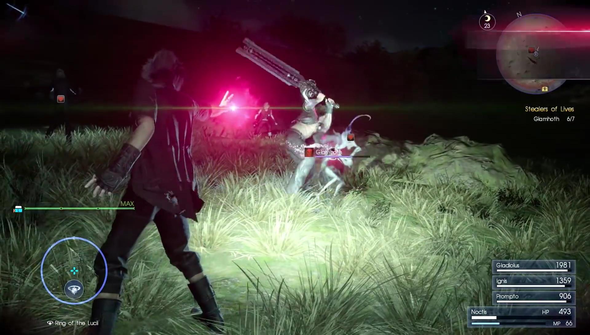 Final Fantasy XV Death Spell Trailer Released