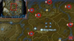 The Legend Of Zelda Breath Of The Wild Shrine Locations And Select Map To  View Full Size Locate Places On World Map Game Best Of Zelda Botw Shrine  Locations ...