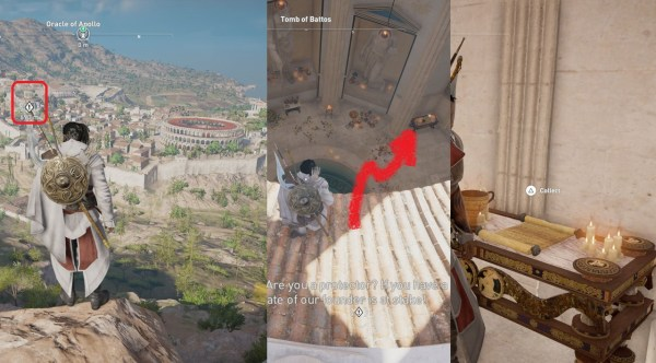 AC Origins Underground Currents Papyrus Puzzle Guide