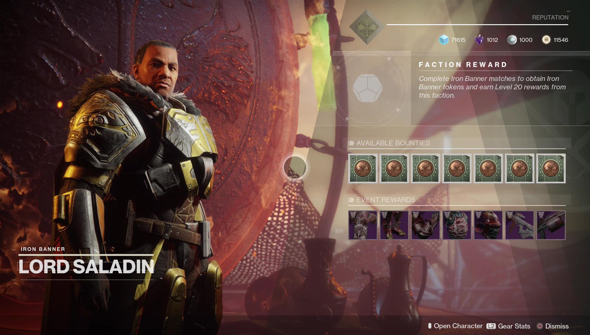 Destiny 2 Iron Banner Season 4 Weapons Amp Armor