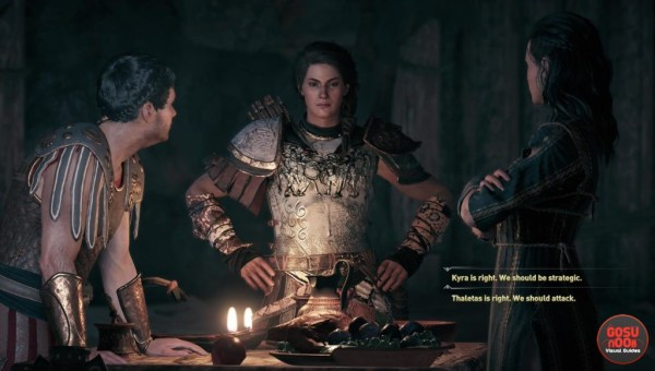 Assassin's Creed Odyssey Kyra Romance Quest - What To Choose