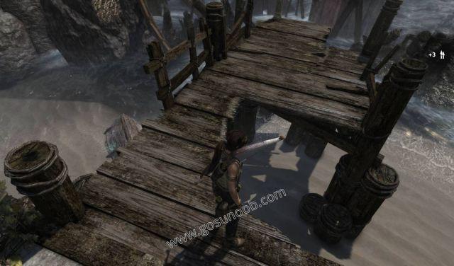 Tomb Raider Shipwreck Beach GPS