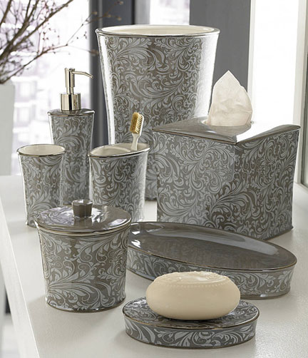 Grey Bath Accessories