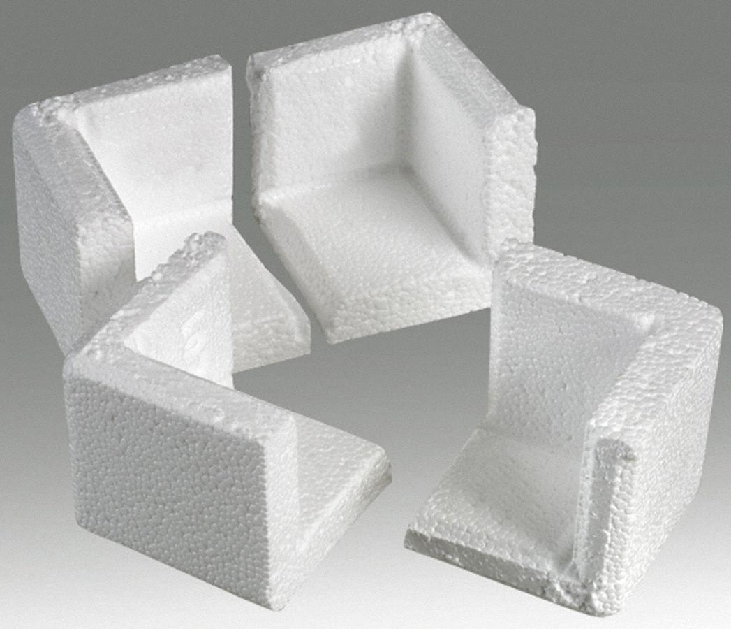 POLAR TECH Corner Protectors 34 In White PK80 12F325