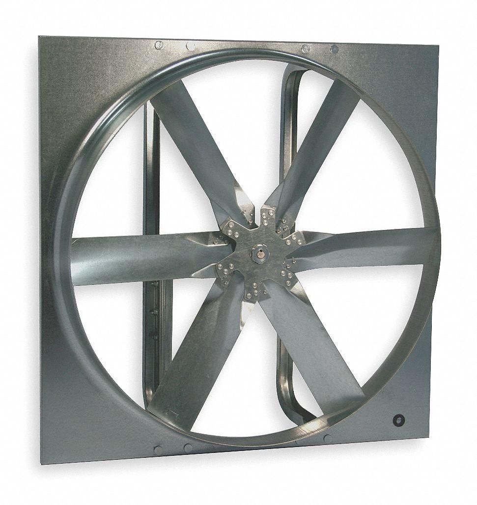 48 in dia exhaust fan standard duty belt drive less drive package