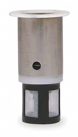 metering cartridge fits brand chicago faucets stainless steel