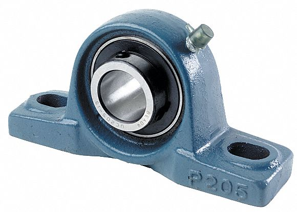 pillow block bearing number of bolts 2 ball bearing type 3 4 in bore dia