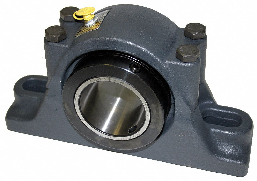 pillow block split base bearing number of bolts 4 tapered roller bearing type 3 1 2 in bore dia