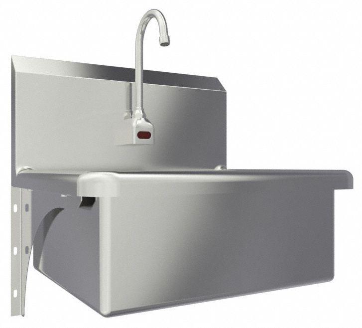 sani lav general purpose 1 stainless steel hand sink
