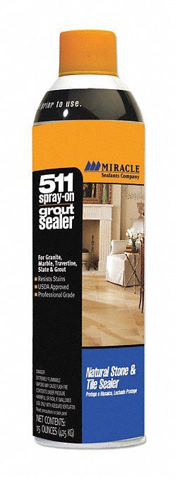 grout sealer 15 oz aerosol can liquid ready to use pk 6