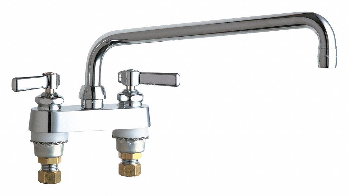 low arc laundry sink faucet lever faucet handle type 0 5 gpm chrome