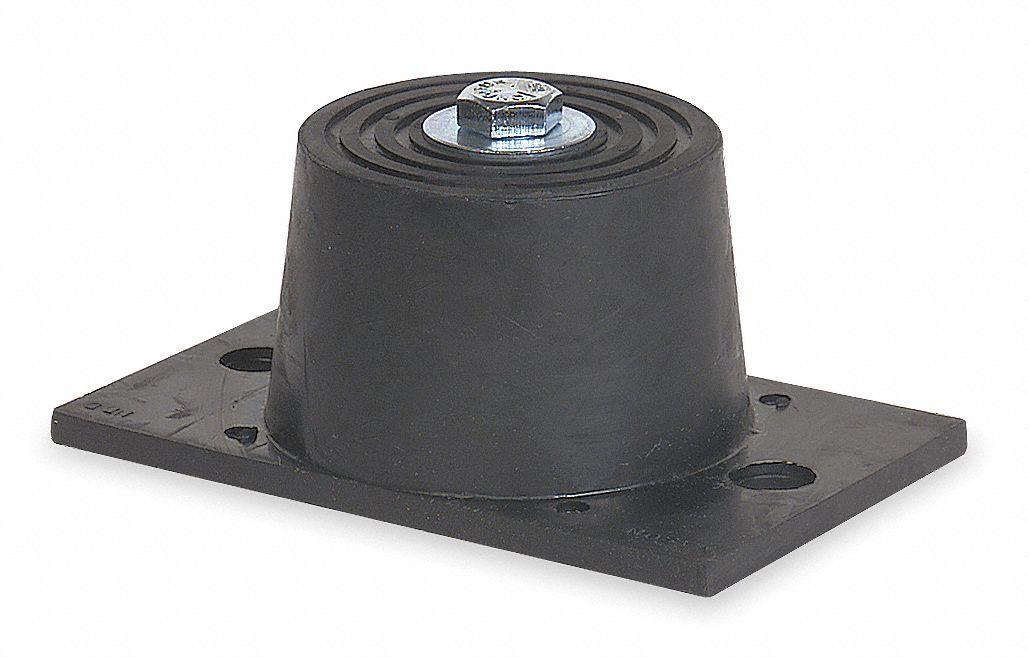 MASON Floor Mount Vibration Isolator Neoprene 4C995