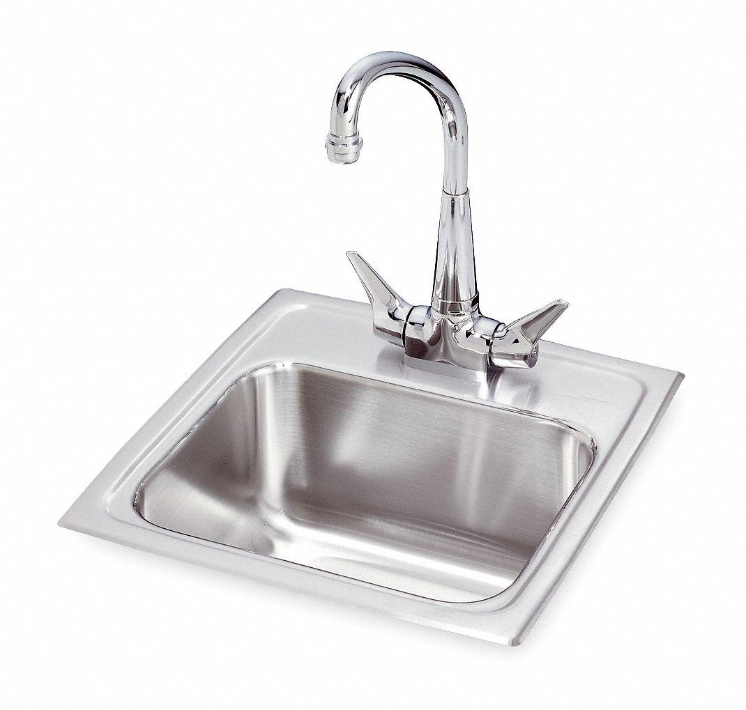 elkay lustertone classic series 12 in x 9 1 4 in stainless steel drop in bar sink package