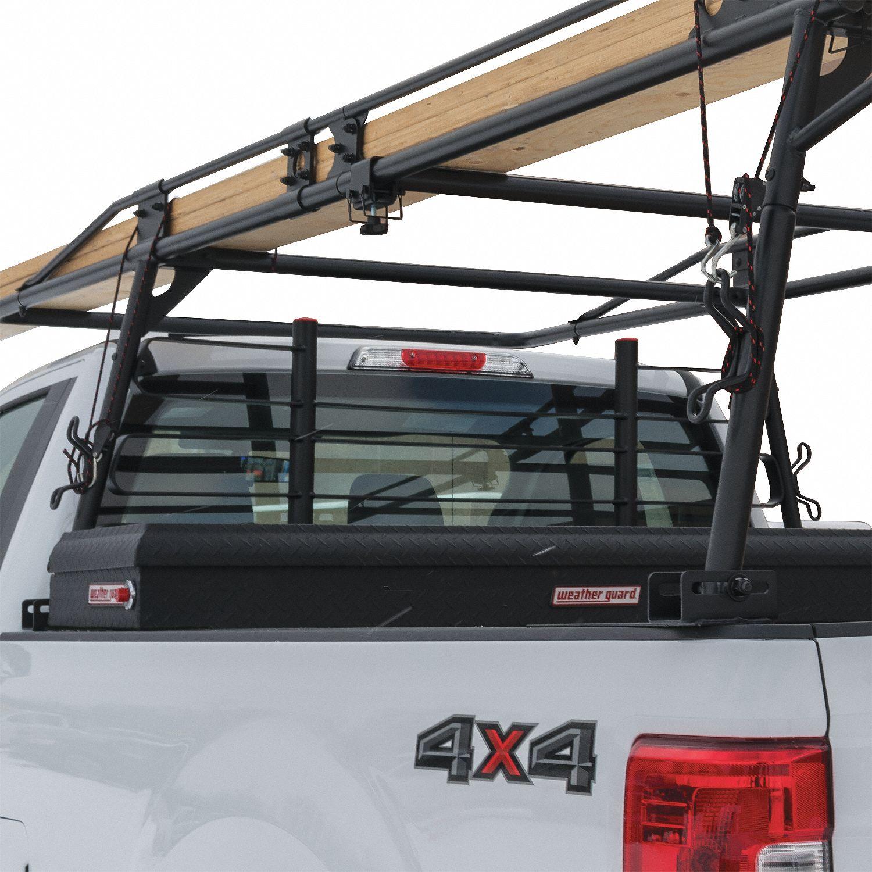 black truck rack cab protector