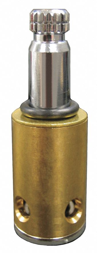 hot water faucet stem fits brand kohler brass