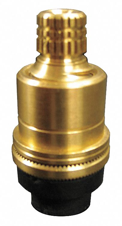 hot water faucet stem fits brand american standard brass