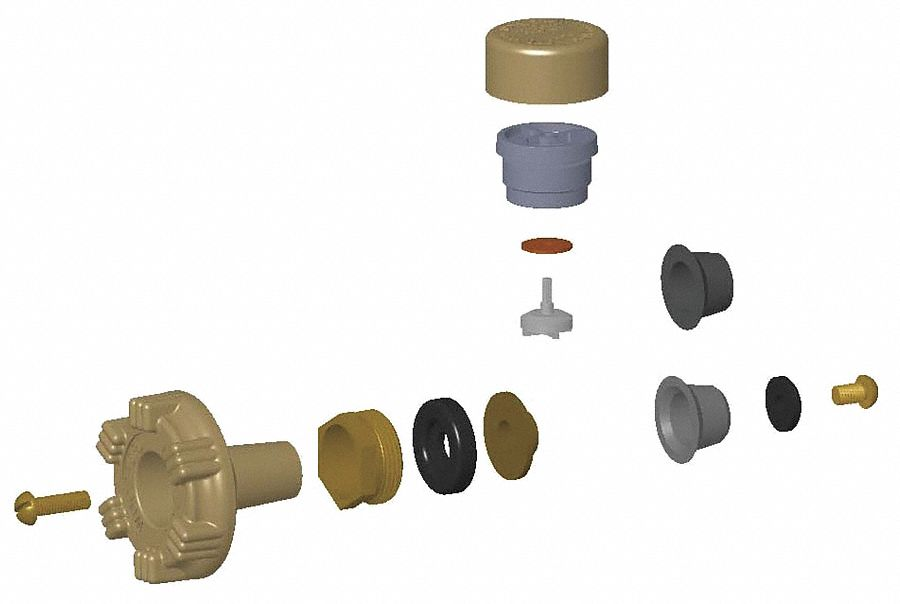 repair kit for use with woodford model 17 residential wall faucet