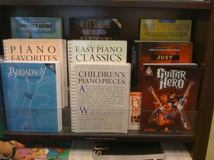 Does Guitar Hero really belong in the Music Books section?