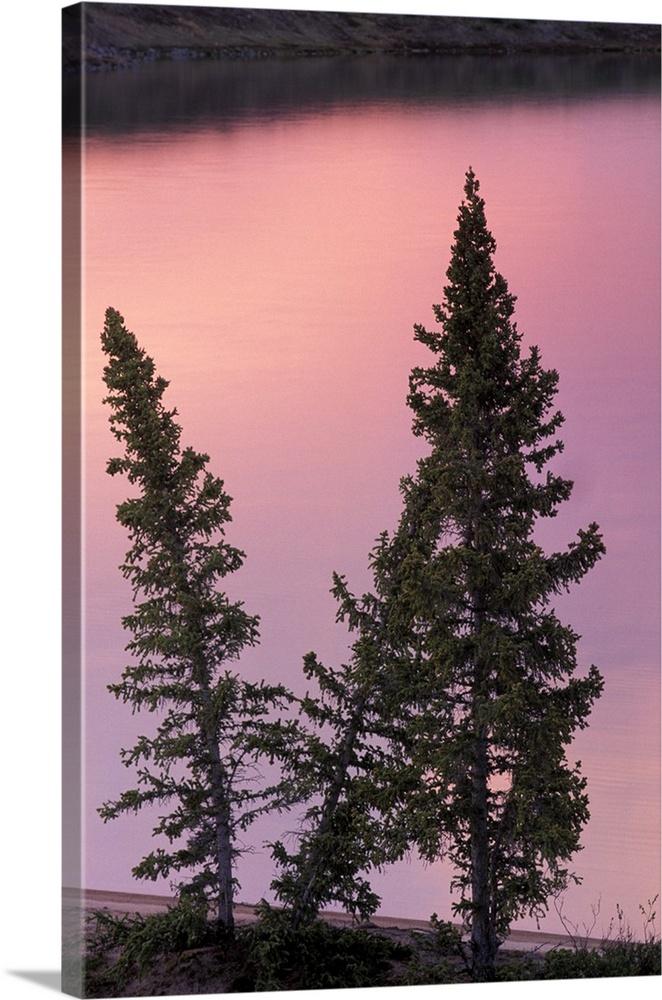North America Canada Northwest Territories Landscape