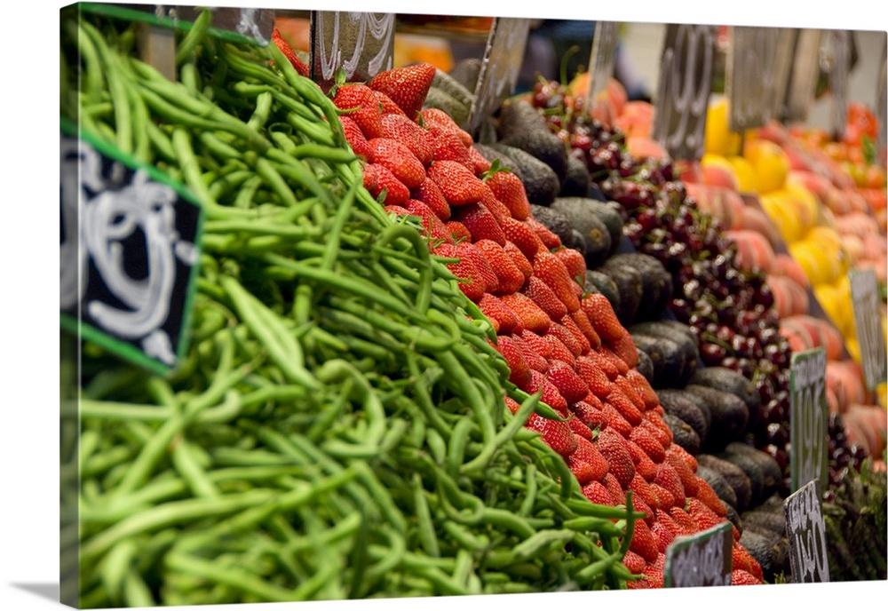 Fresh Food Market Barcelona