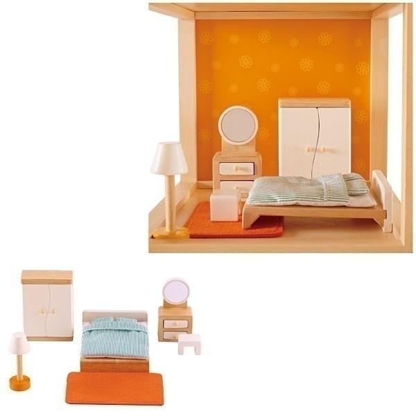 hape chambre des parents meubles maison de poupee loading zoom