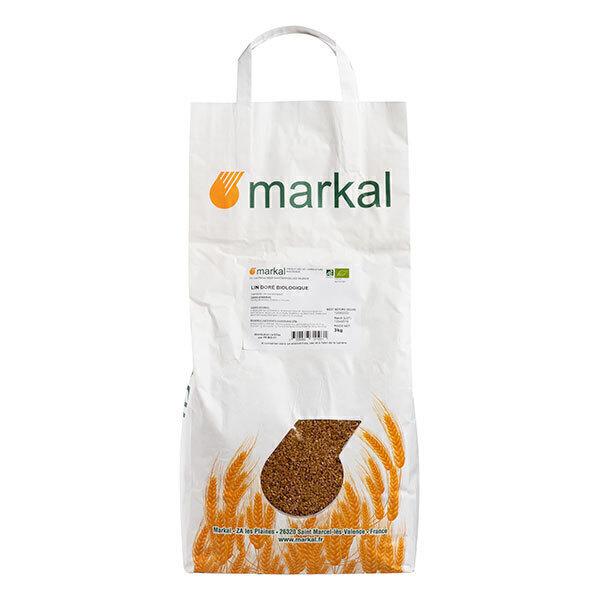 graines de lin dore 3kg markal acheter sur greenweez com