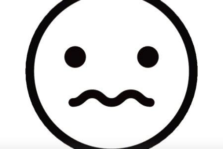 best Carita Triste Emoji Blanco Y Negro image collection