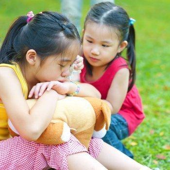 Los miedos más comunes de los niños según su edad