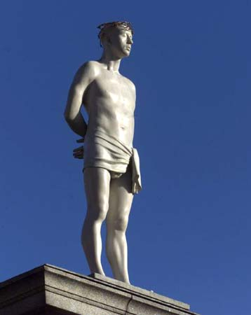 London Walk:成為倫敦的風景 The Fourth Plinth @ 夏行者在巴黎 :: 痞客邦