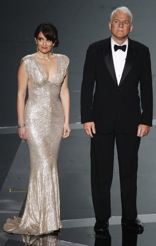 Fey and Martin were probably the only truly enjoyable moment of the night.  Fey FTW.