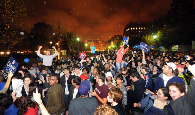 Washington Obama celebrations