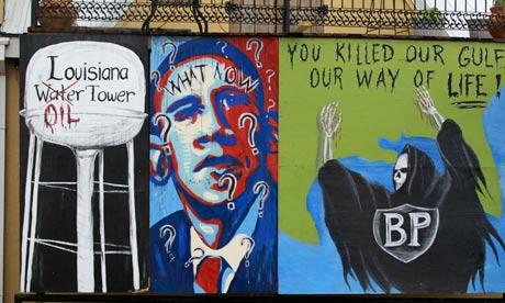 Anti-BP mural, Lousiana